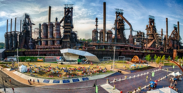 Image result for steel stacks bethlehem
